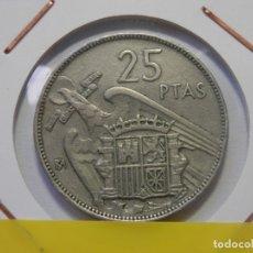 Monedas Franco: ESTADO ESPAÑOL, FRANCO, 25 PESETAS BA. EXPOSICION IBEROAMERICANA BARCELONA, . Lote 178667385