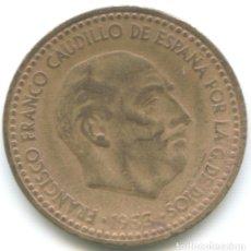 Monedas Franco: UNA PESETA 1953 MONEDA FRANCISCO FRANCO CAUDILLO DICTADURA ESPAÑOLA. Lote 178827657