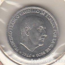 Monedas Franco: .MONEDA ESPAÑA FRANCO 50 CTS DE PTA 1966*69 SIN CIRCULAR. Lote 178877516