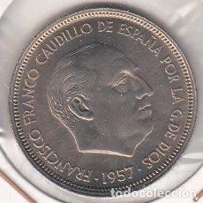 Monedas Franco: MONEDA FRANCO 50 PTA 1957*59 LOTE DE 10 PIEZAS SIN CIRCULAR. Lote 178887288