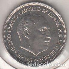 Monedas Franco: MONEDA FRANCO 5 PTA 1957*75 LOTE DE 5 PIEZAS SIN CIRCULAR. Lote 178892923