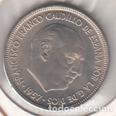 Monedas Franco: MONEDA FRANCO 5 PTA 1957*65 LOTE DE 10 PIEZAS SIN CIRCULAR. Lote 178895430