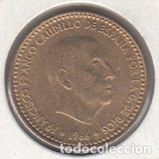 Monedas Franco: MONEDA FRANCO 1 PTA 1966*68 LOTE DE 10 PIEZAS SIN CIRCULAR. Lote 178961222