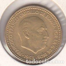 Monedas Franco: MONEDA FRANCO 1 PTA 1953*62 LOTE DE 10 PIEZAS SIN CIRCULAR. Lote 178961742