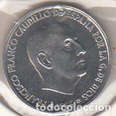 Monedas Franco: MONEDA FRANCO 0.50 PTA 1966*73 LOTE DE 100 PIEZAS SIN CIRCULAR. Lote 178962913