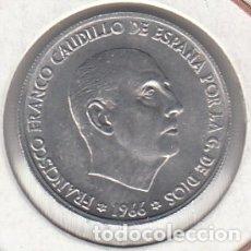 Monedas Franco: MONEDA FRANCO 0.50 PTA 1966*71 LOTE DE 100 PIEZAS SIN CIRCULAR. Lote 178963011