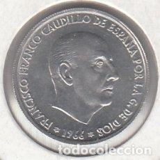 Monedas Franco: MONEDA FRANCO 0.50 PTA 1966*69 LOTE DE 50 PIEZAS SIN CIRCULAR. Lote 178963213