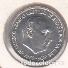 Monedas Franco: MONEDA FRANCO 0.10 PTA 1959 LOTE DE 50 PIEZAS SIN CIRCULAR. Lote 178964333