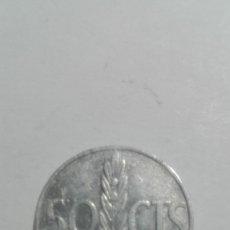 Monedas Franco: E66- MONEDA DE 50 CENTIMOS DEL AÑO 1966 DEL ESTADO ESPAÑOL. Lote 178976775