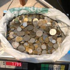 Monedas Franco: LOTE MÁS DE 7 KG DE MONEDAS ANTIGUAS. Lote 179052183