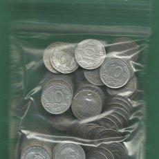 Monedas Franco: ESTADO ESPAÑOL. 100 MONEDAS DE 10 CÉNTIMOS 1949. ALUMINIO. Lote 179078307