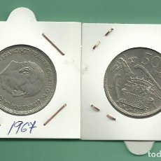 Monedas Franco: ESTADO ESPAÑOL. 50 PESETAS 1957*67. Lote 179081830