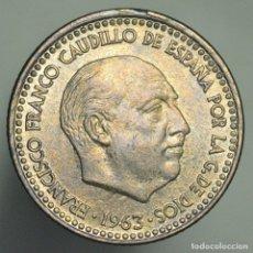 Monedas Franco: 1 PESETA 1963 19*65 - SACADA DE CARTUCHO. Lote 179110185