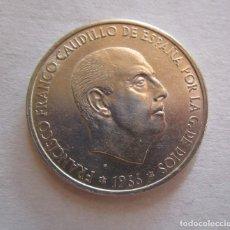 Monedas Franco: FRANCO . 100 PESETAS DE PLATA . ESTRELLAS MUY CLARAS . 19-68. Lote 179140653