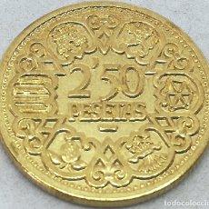 Monedas Franco: RÉPLICA MONEDA 2,50 PESETAS. 1944. MUY RARA. GENERAL FRANCO. MADRID, ESPAÑA. NO SE ACUÑÓ EN SERIE. Lote 212527640