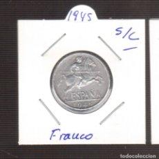 Monedas Franco: MONEDA 10 CENTIMOS AÑO 1945 S/C DE FRANCO LAS QUE VES . Lote 179315353