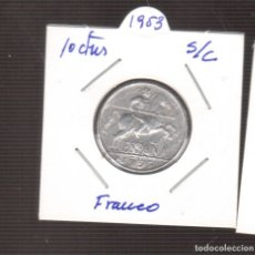 Monedas Franco: MONEDA 10 CENTIMOS AÑO 1953 S/C DE FRANCO LAS QUE VES . Lote 179315590