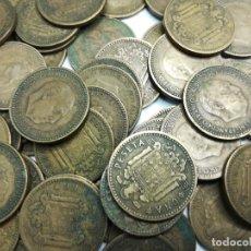 Monedas Franco: LOTE DE CONJUNTO DE 80 MONEDAS DE FRANCO DE LOS AÑOS (1947-1953-1963). Lote 179539588