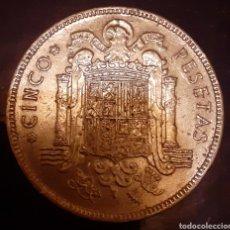 Monedas Franco: 5 PESETAS F.FRANCO 1949*19*50 !! ESCASA !!. Lote 180035243
