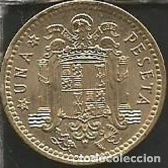 Monedas Franco: ESPAÑA 1966 *75 - 1 PESETA - KM 796 - CIRCULADA - Foto 2 - 161234762
