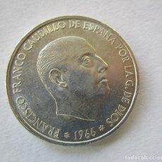 Monedas Franco: FRANCO . 100 PESETAS DE PLATA . ESTRELLAS MUY CLARAS . 19-68 . SIN CIRCULAR. Lote 180132280