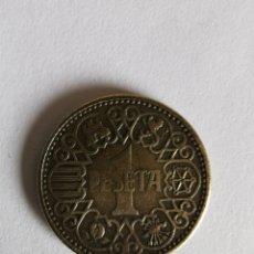 Monedas Franco: LOTE 3 MONEDAS 1 PESETA 1944. Lote 181340582