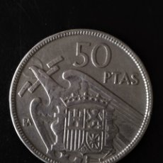Monedas Franco: 50 PESETAS 1957 SERIE BA. Lote 181391091