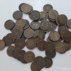 Monedas Franco: LOTE 72 MONEDAS DE 1 PESETA 1944 LA DEL 1. Lote 181512997