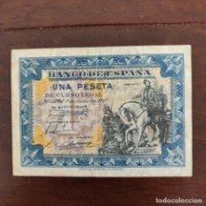 Monedas Franco: BILLETE 1 PESETA AÑO 1.940 . Lote 181875652