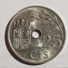 Monedas Franco: MONEDA 25 CENTIMOS - 1937 - SC. Lote 181968143