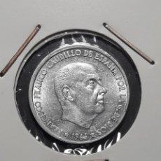 Monedas Franco: VARIANTE-ERROR: 50 CÉNTIMOS 1966 *(19/68) CON REVERSO GIRADO 30º. Lote 182007042