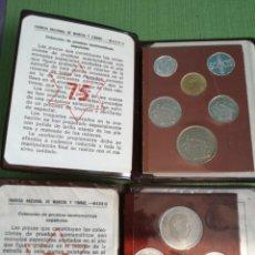 Monedas Franco: CARTERA AÑO 1972 Y 1975. Lote 182082056