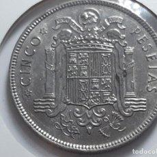 Monedas Franco: 5 PESETAS 1949 *49 MBC++++. Lote 182231785