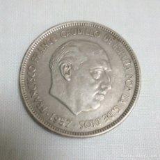 Monedas Franco: MONEDA DE 50 PESETAS 1957 - ESTRELLA 71. Lote 182456146