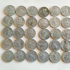 Monedas Franco: LOTE DE 30 MONEDAS DE 5 CENTIMOS - 1941. Lote 182494637