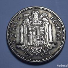 Monedas Franco: MONEDA 2.50 PESETAS 1953 *54 EBC MIY BONITA. Lote 182644110