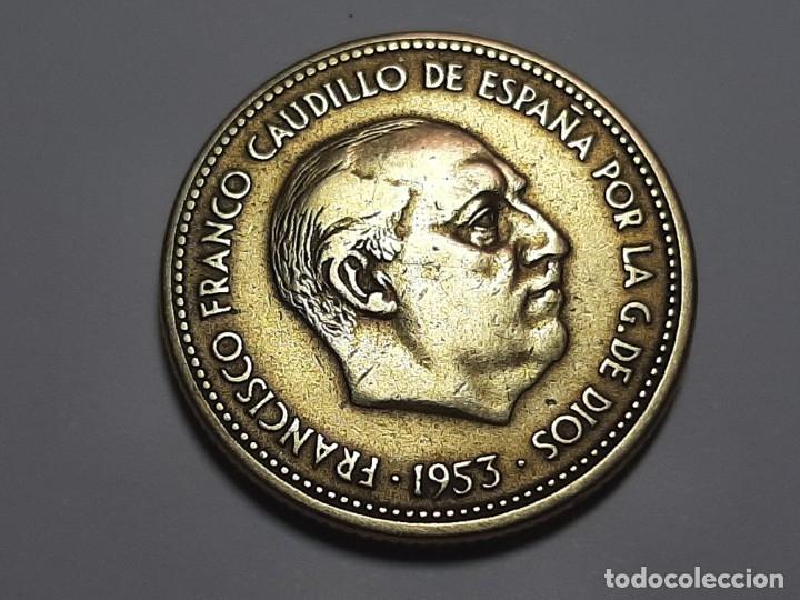 Monedas Franco: MONEDA 2.50 PESETAS 1953 *54 EBC MIY BONITA - Foto 2 - 182644110
