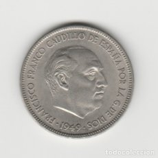 Monedas Franco: 5 PESETAS-1957*19-50 SC. Lote 182766988