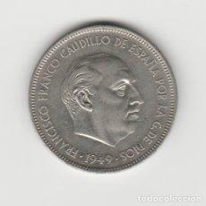 Monedas Franco: 5 PESETAS-1957*19-49 SC. Lote 182767025