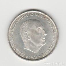Monedas Franco: 100 PESETAS-1966*19-66-SC. Lote 182767175