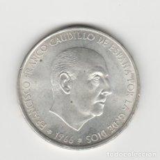 Monedas Franco: 100 PESETAS-1966*19-67-SC. Lote 182767223