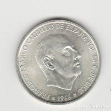 Monedas Franco: 100 PESETAS-1966*19-70-SC. Lote 182767305