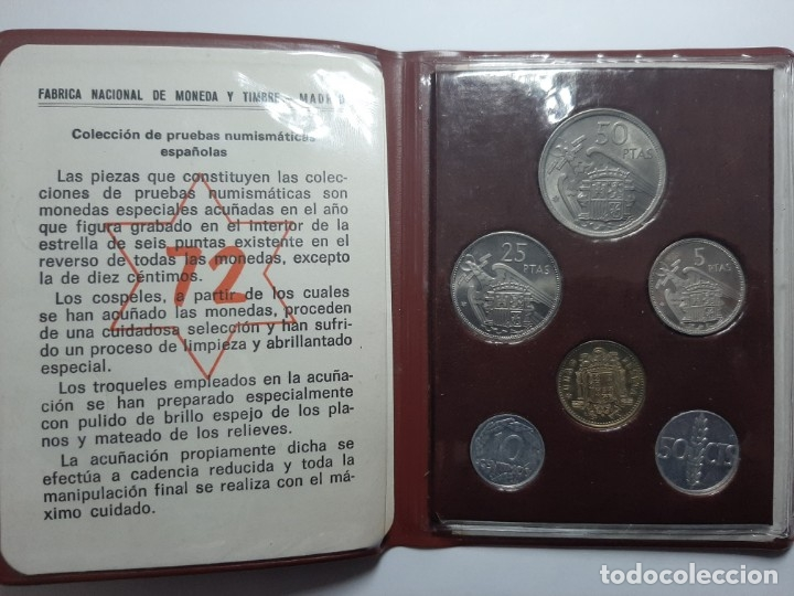 Monedas Franco: CARTERA PROF 72 FRANCO - Foto 1 - 182866018