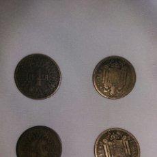 Monedas Franco: LOTE MONEDAS DE 1 PESETA 1944. Lote 182962528