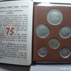 Monedas Franco: CARTERA PROF 75 FRANCO. Lote 182987496