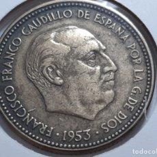 Monedas Franco: MONEDA 2.50 PESETAS 1954 *56 EBC MIY BONITA. Lote 183032990