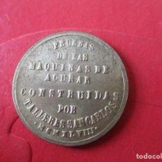 Monedas Franco: PRUEBA DE 1 PESETA. MAQUINAS TALLERES DE SAN CARLOS (CADIZ). Lote 183411143