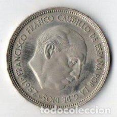 Monedas Franco: 50 PESETAS DE FRANCO DE 1957 ESTRELLAS 73 CALIDAD PROOF. Lote 183741743