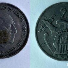 Monedas Franco: ESPAÑA, MONEDA DE 25 PESETAS DE FRANCO, AÑO 1957 ESTRELLA 68. Lote 183875667