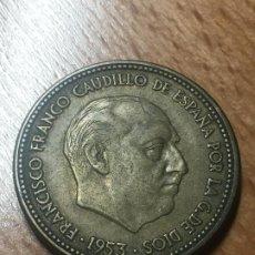 Monedas Franco: MONEDA 2,5 PESETAS 1953 *54 *56. Lote 184438220